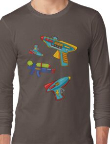 Water gun pattern Long Sleeve T-Shirt