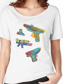 Water gun pattern Women's Relaxed Fit T-Shirt