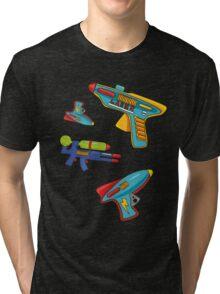 Water gun pattern Tri-blend T-Shirt
