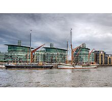 River Thames Barges. Photographic Print
