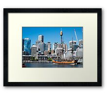 Darling Harbour Sydney Australia Framed Print