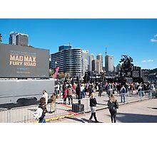 Mad Max Fury Road Sydney Photographic Print
