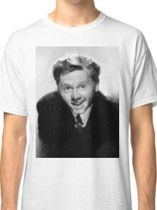 Mickey Rooney by John Springfield Classic T-Shirt