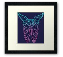 Shard Helm [ TURQUIOSE & PINK ] Framed Print