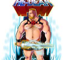 He-Bear by jaygeeart