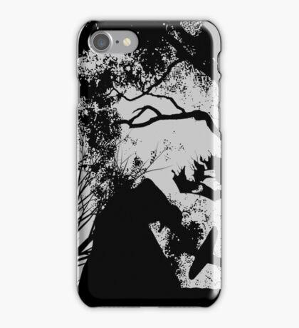 Kylo Ren Silhouette Forest Fire iPhone Case/Skin