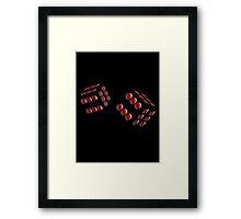 dice, six Framed Print