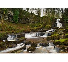 Long Fall Yorkshire Dales Photographic Print