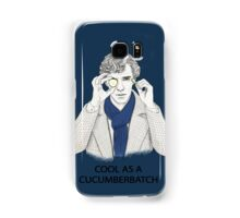 Cool As A Cucumberbatch Samsung Galaxy Case/Skin