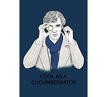Cool As A Cucumberbatch Photographic Print