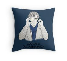 Cool As A Cucumberbatch Throw Pillow