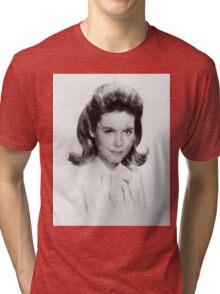 Elizabeth Montgomery by John Springfield Tri-blend T-Shirt