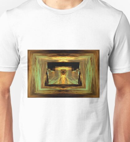 Into the gate below Unisex T-Shirt