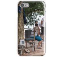 Hanoi Hoan Kiem Lake Exercise Time iPhone Case/Skin