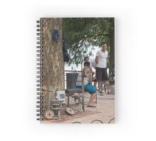 Hanoi Hoan Kiem Lake Exercise Time Spiral Notebook