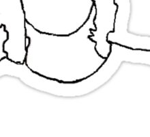 Kellin Quinn outline Sticker
