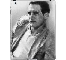 Paul Newman actor by John Springfield iPad Case/Skin