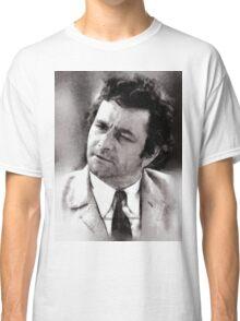 Peter Falk Columbo by John Springfield Classic T-Shirt