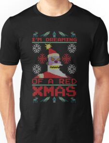 I'm Dreaming of a Red Xmas Unisex T-Shirt