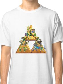 The Legend Of Zelda: Generations of Link Classic T-Shirt