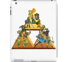 The Legend Of Zelda: Generations of Link iPad Case/Skin