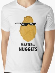 Master of Nuggets Mens V-Neck T-Shirt