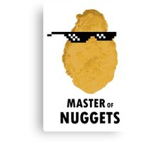 Master of Nuggets Canvas Print