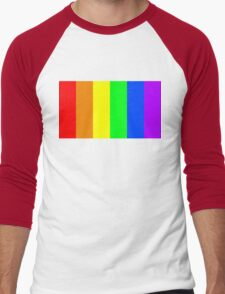 Rainbow flag Men's Baseball ¾ T-Shirt