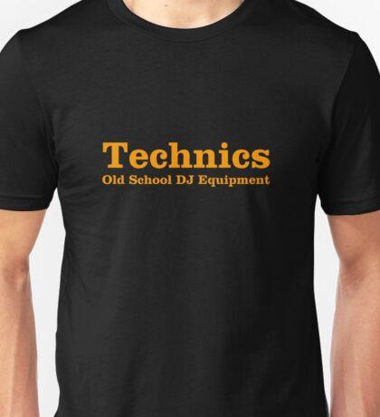 Technics Orange Unisex T-Shirt