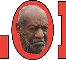 Bill Cosby (red) by Obercostyle