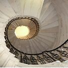 Spiral Staircase Seaton Hall by Woodie