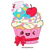 Cutie Cupcake Photographic Print