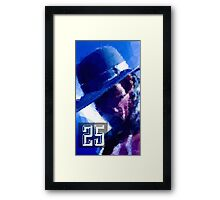 The Undertaker - 25 Years Framed Print