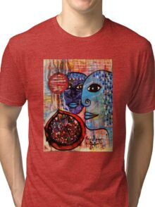 Guarding the Pomegranate Tri-blend T-Shirt