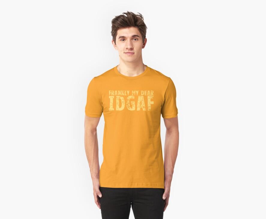 IDGAF by ezcreative