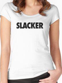 SLACKER Women's Fitted Scoop T-Shirt