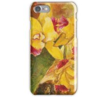 Yellow Orchid Acrylic iPhone Case/Skin