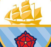 manchester city the citizens new logo 2016 Sticker