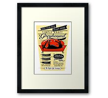 Dust Free Sofa Framed Print
