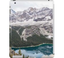 Nancy Over Lake Ohara iPad Case/Skin