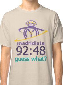 Real Madrid Madridista fans Classic T-Shirt