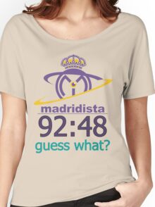 Real Madrid Madridista fans Women's Relaxed Fit T-Shirt