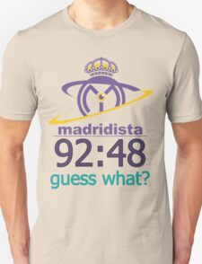 Real Madrid Madridista fans Unisex T-Shirt