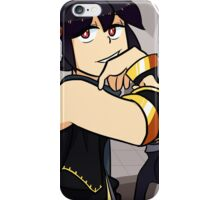 Kid Icarus Uprising - Dark Pit (Ver2) iPhone Case/Skin