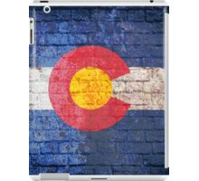 Colorado grunge brick wall iPad Case/Skin