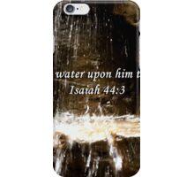 """Isaiah 44:3"" by Carter L. Shepard""  iPhone Case/Skin"