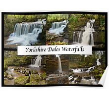 Yorkshire Dales Waterfalls Poster