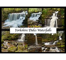 Yorkshire Dales Waterfalls Photographic Print