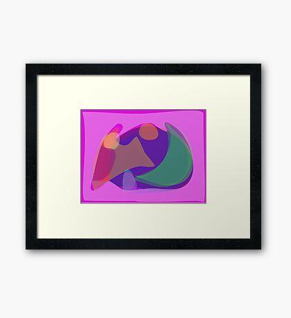 Pink Environment Framed Print
