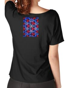Colored Disc Women's Relaxed Fit T-Shirt
